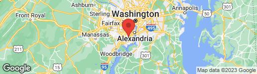 Map of 4514 FLINTSTONE ROAD ALEXANDRIA, VA 22306