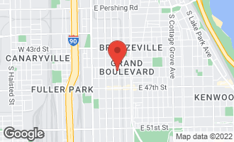Map of 4518 South Prairie Avenue CHICAGO, IL 60653