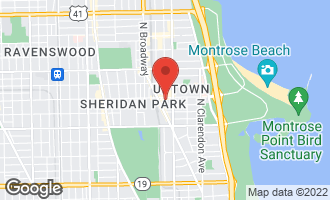 Map of 4525 North Kenmore Avenue #305 CHICAGO, IL 60640