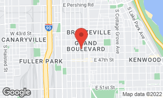Map of 4525 South Prairie Avenue CHICAGO, IL 60653
