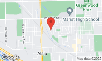 Map of 4527 West Howdy Lane ALSIP, IL 60803