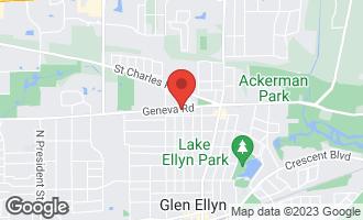 Map of 453 Geneva Road GLEN ELLYN, IL 60137