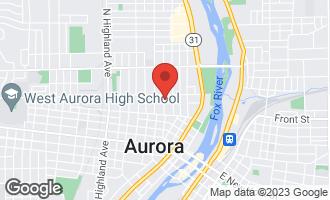 Map of 453 Grand Avenue AURORA, IL 60506