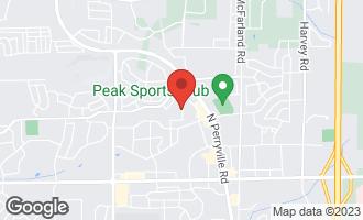 Map of 4530 Hilltop Drive LOVES PARK, IL 61111