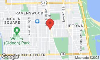 Map of 4543 North Greenview Avenue CHICAGO, IL 60640