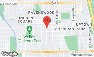 Map of 4547 North Wolcott Avenue 1N Chicago, IL 60640