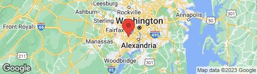 Map of 4556 MAGNOLIA MANOR WAY ALEXANDRIA, VA 22312