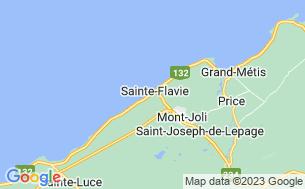 Map of Camping Au Gîte Du Vieux Quai