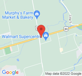 Google Map of 4589+Industrial+Pkwy%2CAlliston%2COntario+L9V+1W1
