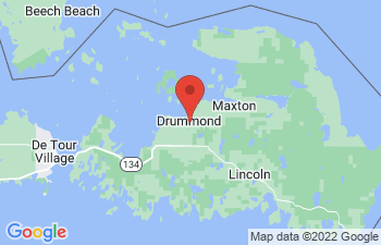 Map of Drummond Island