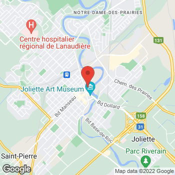 Map of Tim Hortons at 20 Rue Saint Charles Sud, Joliette, QC J6E 4T1