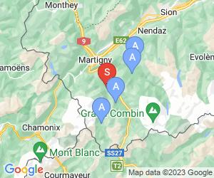Karte für Champex - Lac