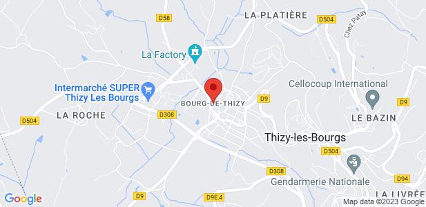 Terrains industriels à vendre (4960 m²) - Thizy Les Bourgs (69)
