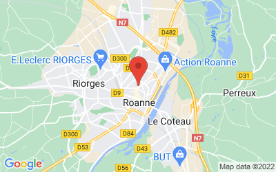 17 Place Georges Clemenceau, 42300 Roanne, France
