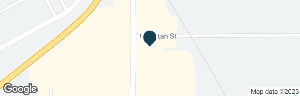 Google Map of633 W TIETAN ST