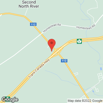Map of Tim Hortons at 2980 Fredericton Rd, Salisbury, NB E4J 3E2