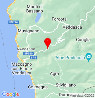 Google Map of 46.0535581, 8.765153000000055