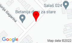 Google Map of Aksentija Marodića bb, Subotica