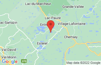 Map of Entrelacs