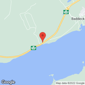 Map of Tim Hortons at 8250 Shore Rd Hwy, Baddeck, NS B0E 1B0