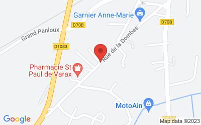 Rue de la Dombes, 01240 Saint-Paul-de-Varax, France