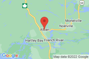 Map of Alban