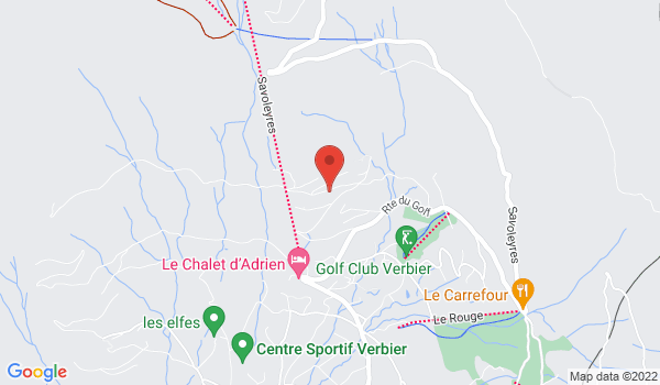 Location map Chalet for sale, Verbier