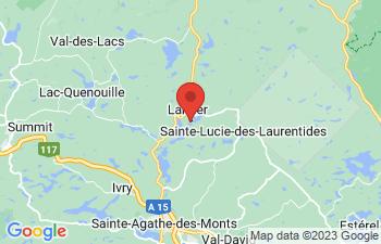 Map of Lantier