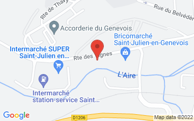 3 Route des Vignes, 74160 Saint-Julien-en-Genevois, France