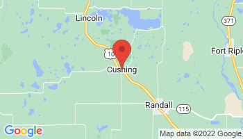 Map of Cushing