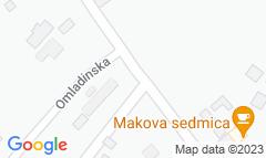 Google Map of Istočni vinogradi bb, Subotica