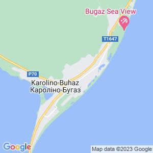 Карта города Каролино-Бугаза