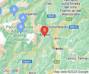 Karte für Paganella