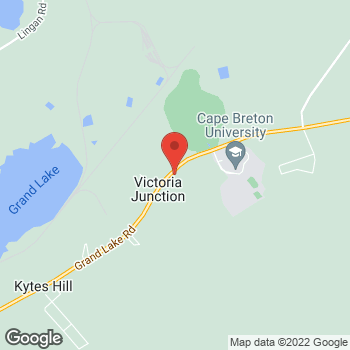 Map of Tim Hortons at 1172 Grand Lake Rd, Sydney, NS B1M 1A2