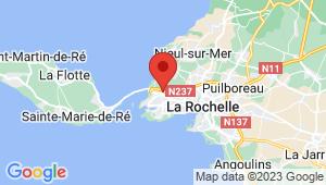 Carte de localisation du centre de contrôle technique LA ROCHELLE