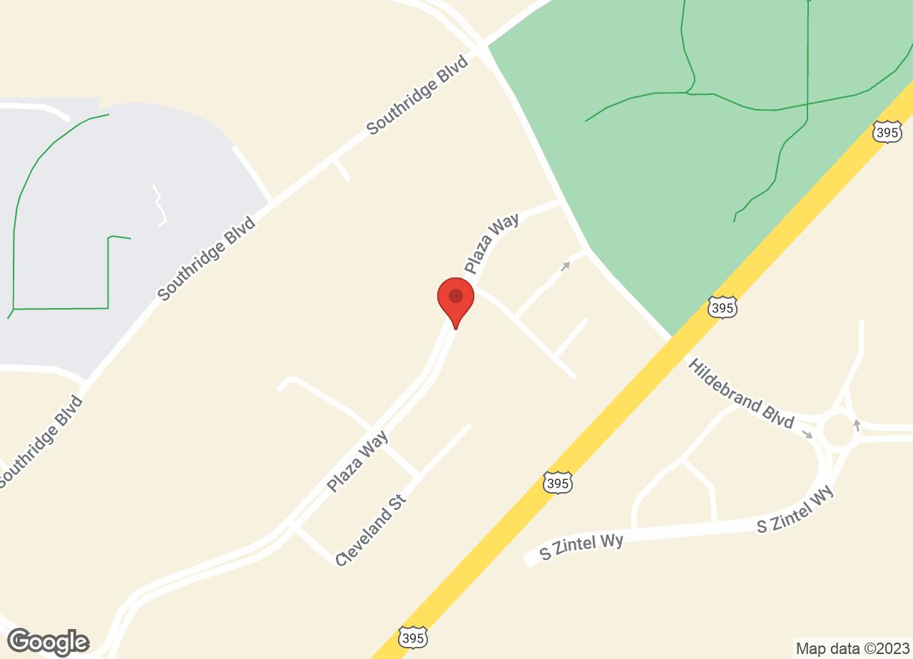 Google Map of VCA Meadow Hills South Animal Hospital
