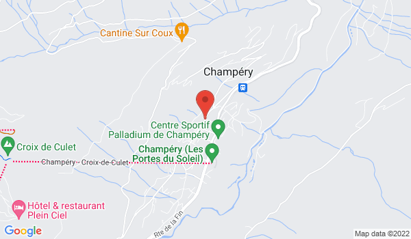 Location map Apartment for sale, Champéry