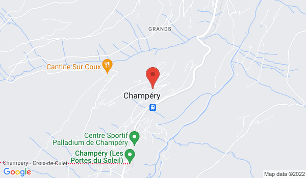 Location map Chalet for sale, Champéry