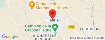 Carte Domaine du Clos des Garands - Petit Paumé