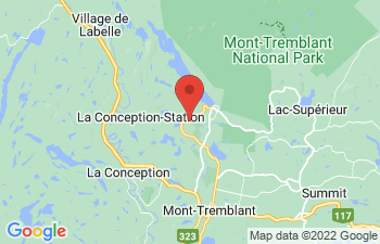 Map of Mont Tremblant