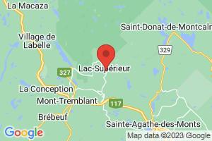 Map of Lac-Superieur