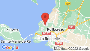 Carte de localisation du centre de contrôle technique NIEUL SUR MER