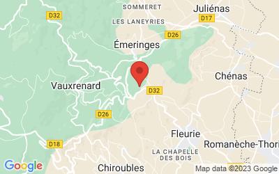 Les Labourons, 69820 Fleurie, France