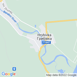 Карта города Грибовки