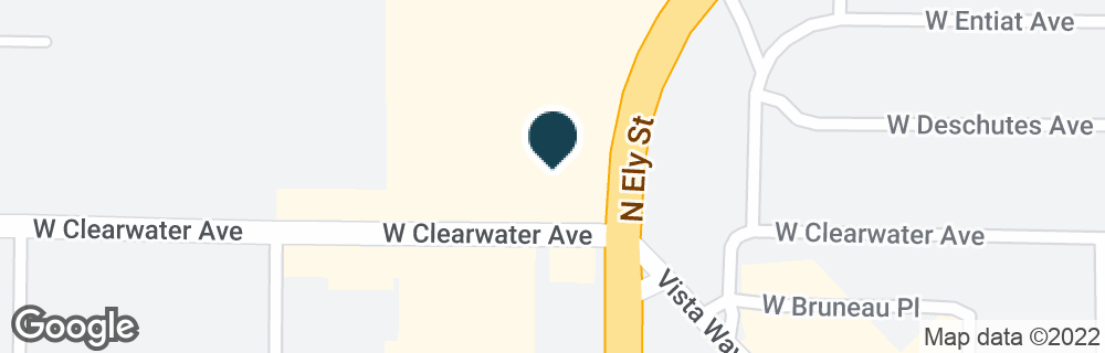 Google Map of2800 W CLEARWATER AVE