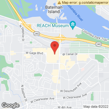 Map of American Eagle Outfitters at 1321 N Columbia Ctr Blvd, Kennewick, WA 99336