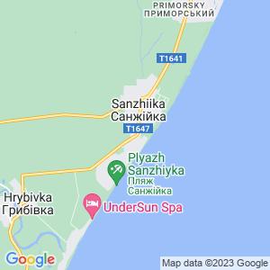 Карта города Санжейки
