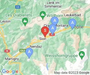 Karte für Golf Club de Sion