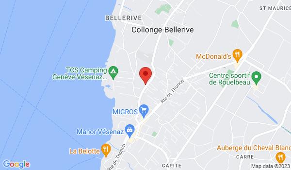 Location map House for sale, Vésenaz