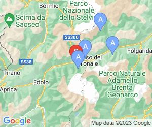 Karte für Ponte di Legno